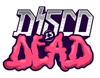 Disco Is Dead Logotype