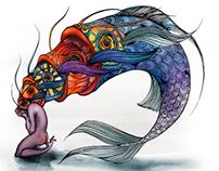 Fish woman