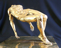 The Fallen. Polished Bronze