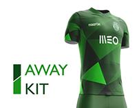 Sporting CP Football Kit 16/17.