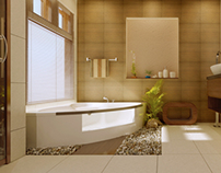 Interior Renders (Bathroom)