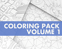 Coloring Pack Vol.1 - 30 Coloring Pages