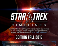 Single Sheet Star Trek Timelines Brochure