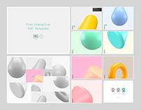 Free Interactive PDF template