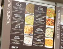 Au Bon Pain Retail Soup Panel Magnets