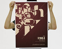 Orwell 1984 - Movie Poster
