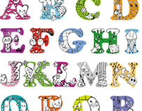 ABC Typography for kids