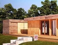 BlueSky Mod prefab cabin