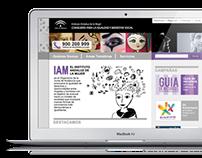 Web del Instituto Andaluz de la Mujer