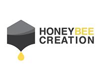 Honeybee Creation Logo