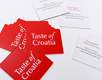 Taste of Croatia - business cards