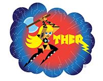 Ther, from Deja Vu Comics