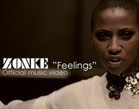 "Music video - Zonke ""Feelings"""