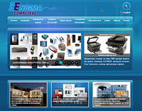 Enigma Computers website