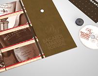 Christmas Sales Folder Bacardi Martini Portugal