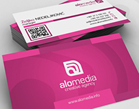 ALO Media Business Cards