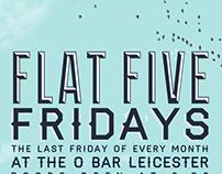 Flat Five Fridays