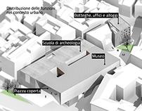 Ricucitura del profilo urbano di via Gulia, Roma