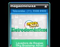 DTVi - Sticker MagazineLuiza - Tvista