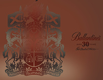 Ballantine's 30 year old Whiskey