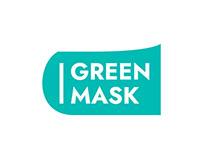 Green Mask visual identity