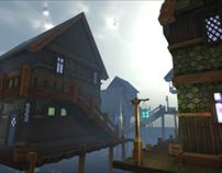 Lake Town - Modular Asset Pack