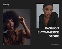 allbirds   Fashion E-commerce Store