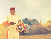 Dharam Pandya National Rally Champion by Puma