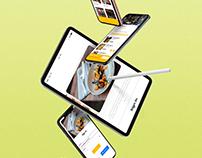 Luxury Delivery app | Product Design & UI development