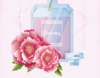 Fragrance illustration