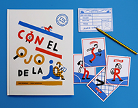 'Con el Ojo de la i' Interactive children book.