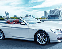 BMW Convertible retouch