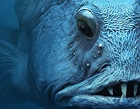 WWF's Fish Forward campaign with full cgi fishes