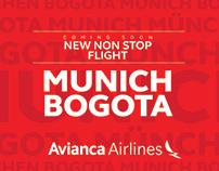Coming soon MUNICH - BOGOTA