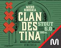 Clandestina Microbirreria // Etiquetas