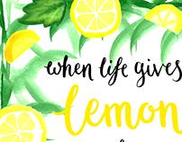 Lemons & Tequila
