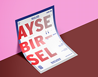 Guest Lecture Poster - Ayse Birsel