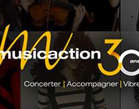 Musicaction – Site web