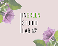 Logo // Business Card // inGreen studioLab