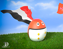 Happy easter egypt