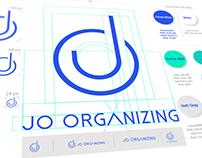 JO Organizing   Brand identity design