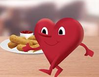 Heartburn Animation