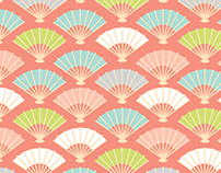 Surface Prints inspired from Japanese culture