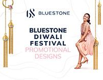 Bluestone Diwali Festival Promotional Designs