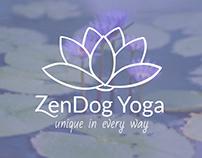 ZenDog Yoga Branding and Web Design