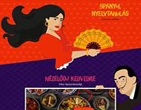 Kultúr Tapas - webdesign and illustration