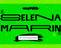 Free Font - Selena Marin