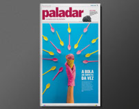 Paladar food newspaper covers