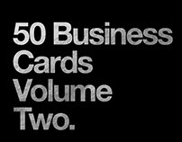 50 Business Cards Volume Two