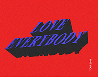 Kanye West Love Everybody 2019 Tour Concept